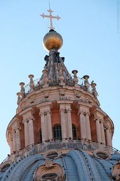 Lantern of the St. Peter's Basilica - Vatican