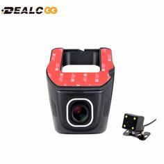 Dealcoo Car DVR Registrator Digital Video Recorder Camcorder Dash Camera Cam 1080P Night Version Novatek 96658 IMX 322 WiFi DVRs
