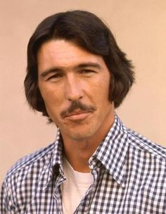 Randy Randolph Mantooth Actor Sporting Mustache 8x10 Photo 16
