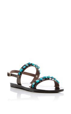 51041fecca7 Clio Gladiator Sandals by ANCIENT GREEK SANDALS Now Available on Moda  Operandi Brown Gladiator Sandals