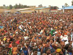 Kibeho Rwanda of pilgrimage Virgin Mary