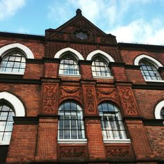 This is an example of the sort of brickwork even modest buildings have in Birmingham.