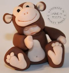 Monkey by Jaine's Peeps, via Flickr