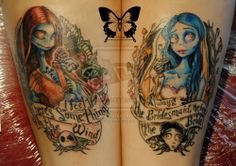 Sally and Emily tattoo