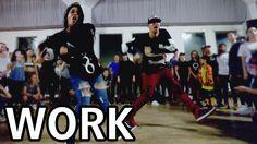 WORK - Rihanna Dance Video   @MattSteffanina Choreography ft Fik-Shun
