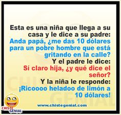 Chistes para niños - 10 dólares para un pobre hombre Memes, Decir No, Humor, Funny, Sentences, Jokes For Kids, Animal Jokes, The Scream, Father