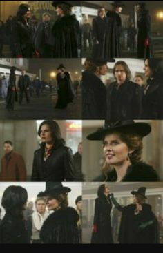 Awesome Regina and Zelena (Lana and Rebecca/Bex) #Once #S3 E16 aired Sunday 4-6-14