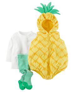 Baby Girl Little Pineapple Halloween Costume | Carters.com