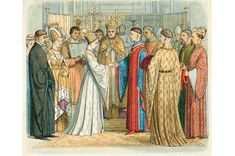 For those in the higher echelons of society in the Tudor period, a good marriage was one that brought about mutual prosperity and advancement in status, or strengthened alliances.Romantic love was frowned upon, and was certainly no basis for matrimony. Nevertheless, between 1430 and 1565 seven ladies close to the throne braved royal wrath and scandal by marrying men of lower degree for love. In doing so, says Melita Thomas, they changed the course of history...