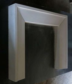 French Contemporary Style Fireplace Handcrafted in Limestone France. - French Contemporary Style Fireplace Handcrafted in Limestone France. Wooden Fireplace, Vintage Fireplace, Limestone Fireplace, Home Fireplace, Fireplace Remodel, Fireplace Surrounds, Fireplace Design, Fireplace Mantels, Mantles