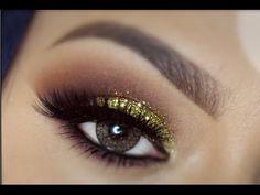 Evening Makeup Tutorial | LoLo Love gold