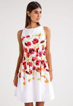 Lauren Ralph Lauren TAMAL - Vestito estivo - white red multi - Zalando. 540e3ea04de