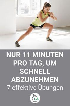 Schnell abnehmen mit diesen 7 Übungen. Wir zeigen dir, wie du durch Krafttraining effektiv Fett verbrennen kannst. Fitness Workouts, Sport Fitness, Yoga, Health, Sports, Keto, Wellness, Inspiration, Gym Workouts Women