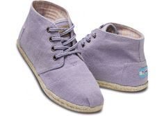 #TOMS Lilac Wisett Women's Desert Botas I want some of these for the winter!