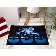 Jackson State Tigers NCAA All-Star Floor Mat (34x45)