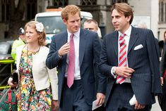 Prince Harry arrived at the Houses Of Parliament with friends