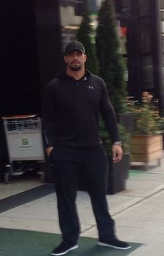 Joe Anoa'i//Roman Reigns Oh you know, just standin here lookin like this