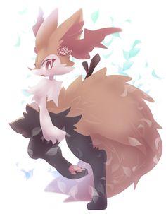 Video Game Characters, Anime Characters, Cute Pokemon, Pokemon Stuff, Pokemon Starters, Devian Art, Lugia, Anime Furry, Fox Art