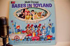 Vinyl Record LP Vintage Walt Disney Babes In Toyland
