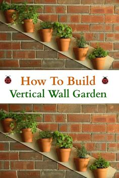 How To Build A Vertical Wall Garden You are going to Love this gardening project on How To Build A Vertical Wall Garden.
