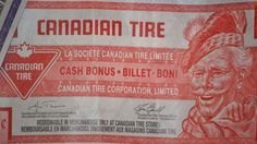 Canadian Tire Money. Very difficult to explain to people from other countries...