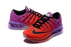 d60b308ec4f Nike Air Max 2016 Women Mesh Red Purple Shoes