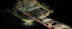 Sería la primera vez que se encuentra una tumba real mexica. No se ha excavado, se piensa posiblemente trabajarlas este año para ver realmente de qué trata ese túnel y esas dos huellas que están al fondo.