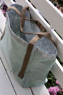 Simple Sewn Tote