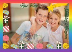 Fijne Kerst - Gelukkig Nieuwjaar (Max en Jane, eigen foto).