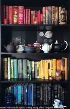 Books and tea! My favourite things!