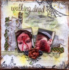 Walking Dead - Scrapbook.com
