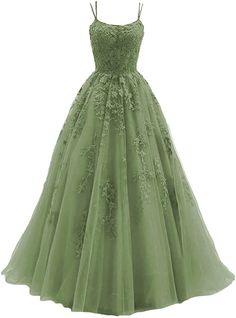 Cute Prom Dresses, Formal Dresses For Women, Formal Evening Dresses, Evening Gowns, Formal Gowns, Sage Green Dress, Emerald Green Dresses, Custom Dresses, Petite Dresses