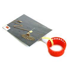 Wire crochet loom M , ISK invisible spool knitting starter tool