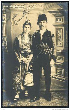 Srpska narodna nosnja - Serbian folkloric cloths