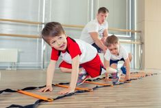 Exercise For Kids, Sporty, Kids Rugs, Gym, Stock Photos, Children, Happy, Exercises, Bedroom