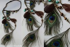 River island's peacock hairbands
