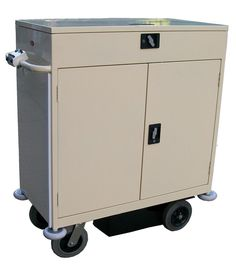 Motorised Mini Bar Cart: This cart can be pushed with just the touch of a button!