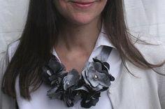 Bromeliad: DIY Wednesday: Make a floral choker necklace - Fashion and home decor DIY and inspiration