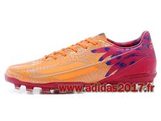Boutique Adidas Homme Soccer F50 Adizero Carnaval TRX AG Orange/Rose