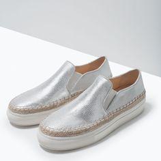Slip on Sneakers – O conforto a seus pés | Zara