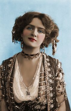 Edwardian Actress Lily Elsie