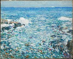 Surf, Isles of Shoals by Childe Hassam (1913)