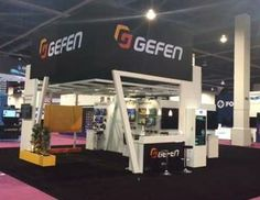 Gefen custom 40x50 trade show rental exhibit for the 2014 NAB show.  http://www.xibeo.com/rental_exhibits_displays.aspx