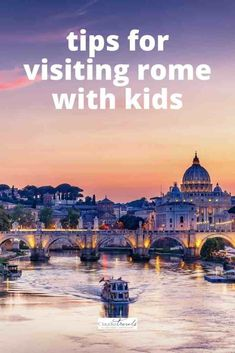 Dreaming of visiting the eternal city of Rome, Italy? From marvelling at the Vatican Museums and Trevi Fountain to diving into Roman history at the Colosseum and Imperial Forum, we're sharing the best things to do in Rome with kids.