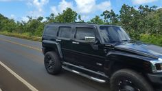 Nice Hummer!  #protecautocare #engineflush #carrepair #hummer #h3 #sport #utility #vehicle #suv #black #rims #tinted #customized #custom #summer #nofilter #followus