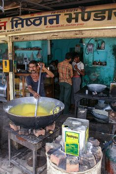 Street Cooking in India