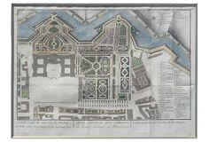 One Kings Lane - Building the Dream - 18th-C. Würzburg Garden Plan