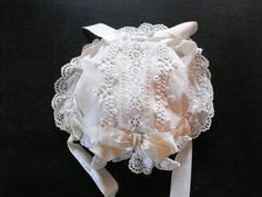 Victorian Baby's Bonnet..   From ~FRENCH VINTAGE LINENS AND ANTIQUES~  We invite you to visit our Etsy Shop at  www.Etsy.com/shop/Vintagefrenchlinens