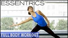 Essentrics Full-Body Barre Workout- Standing Exercises is an elegant dancer's barre routine that is designed to sculpt long, lean muscle and tone the body fr. Fitness Senior, Miranda Esmonde White, Eccentric Exercise, Upper Back Exercises, Dynamic Stretching, Yoga For Balance, Aging Backwards, Youtube Workout, Toning Workouts