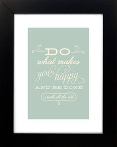 be done with all the rest #happy